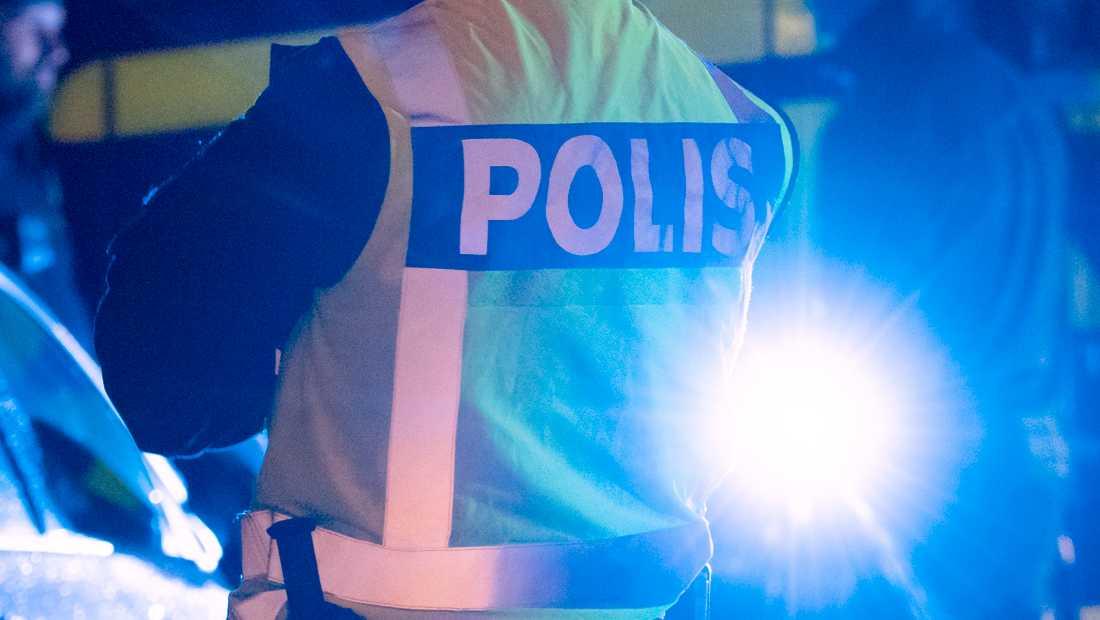 Polisen utreder vad som inträffat i Hässelby. Arkivbild.
