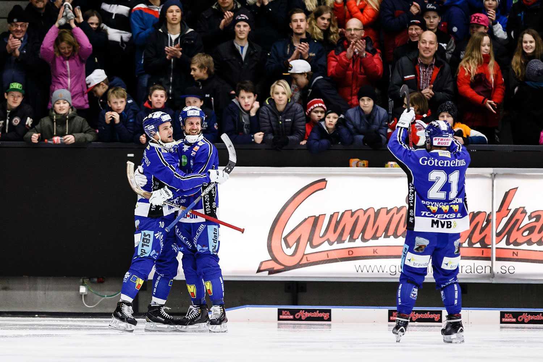 David Karlsson gjorde mål – som vanligt. Denna gång blev det två mot Edsbyn.
