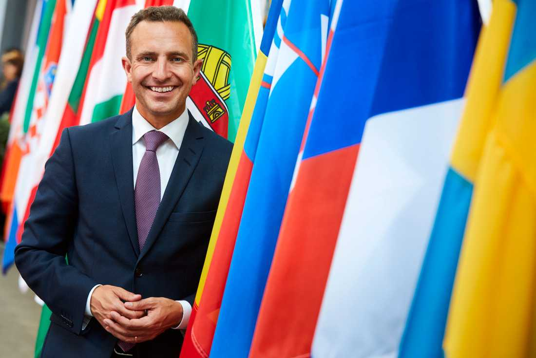 Moderaten Tomas Tobé i EU-parlamentet. Arkivbild.