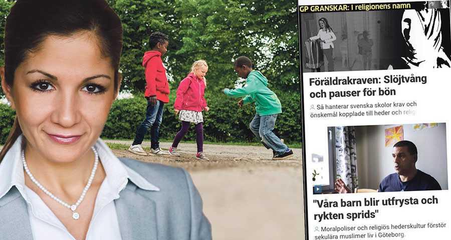 Personalen i skolan och förskolan måste våga sätta ned foten gentemot patriarkala och förtryckande normer, skriver Gulan Avci. Bilden är ett montage och barnen på bilden har inte med texten att göra.