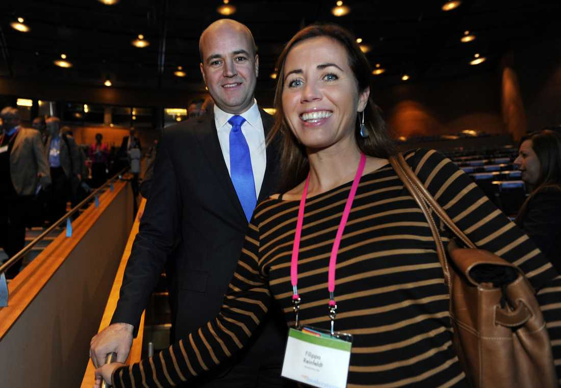 Fredrik och Filippa Reinfeldt.