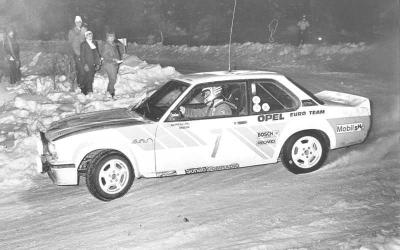 Svenska rallyt 1980 Kulläng vinner Svenska rallyt tillsammans med Bruno Berglund 1980.