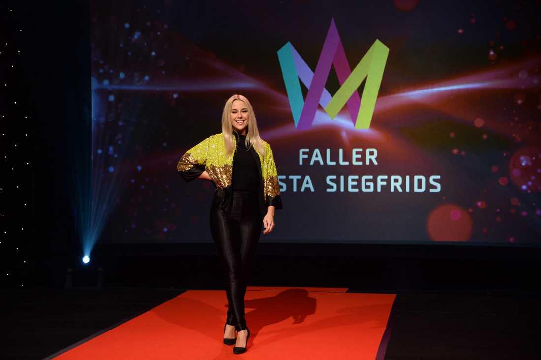 Krista Siegfrids har tidigare tävlat för Finland.