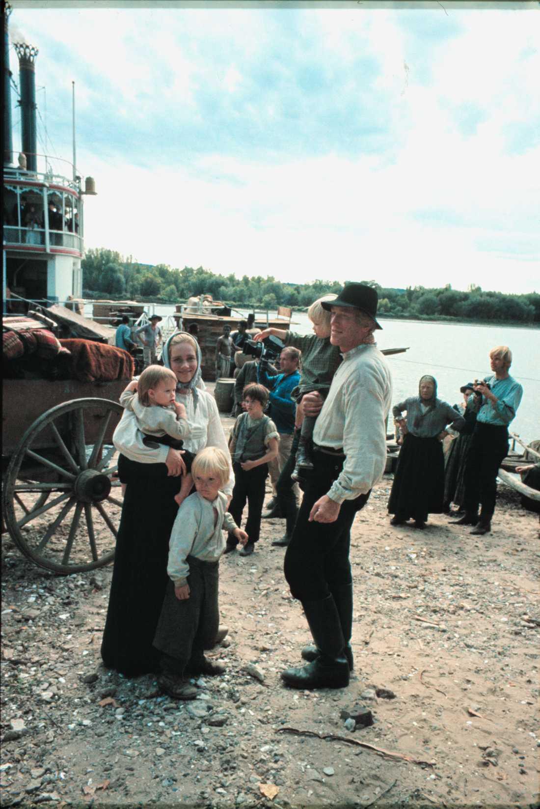Utvandrarna, Liv Ullman tillsammans med Max von Sydow.
