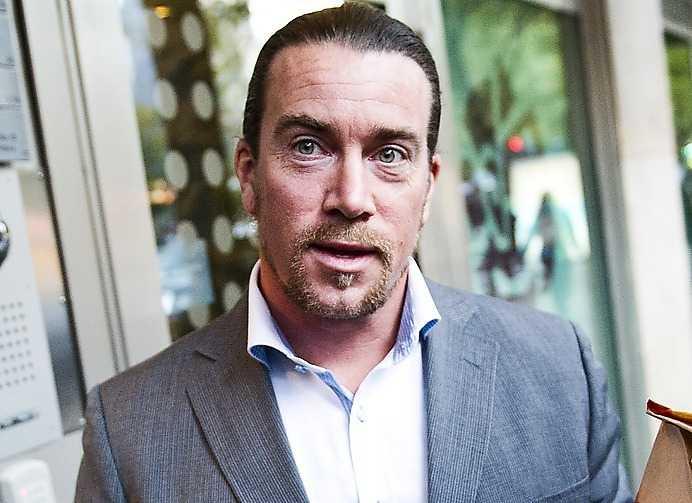 Förre Robinsonvinnaren och riksdagsmannen Jan Emanuel Johansson.