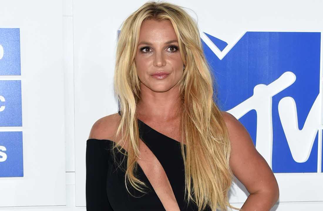 Britney Spears på MTV Video Music Awards, 2016.