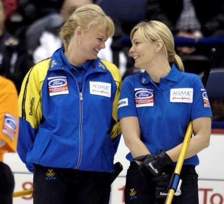 Anette Norberg och Eva Lund.