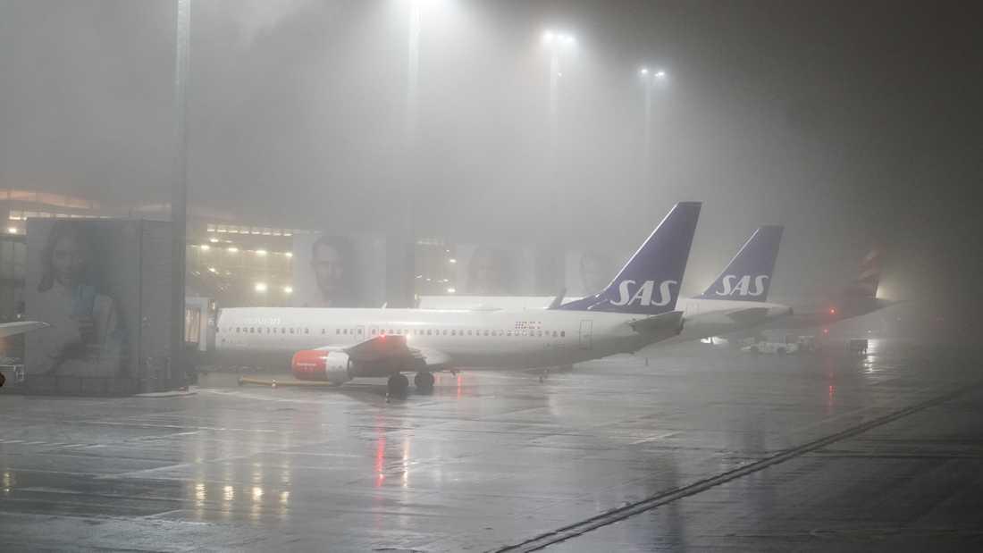 Den terrormisstänkta norska kvinnan och hennes två barn landade på Gardermoen.