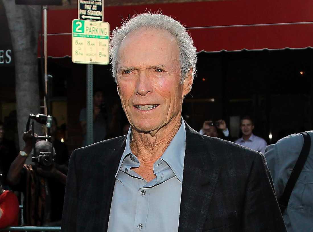 Clint Eastwood, 85 år.