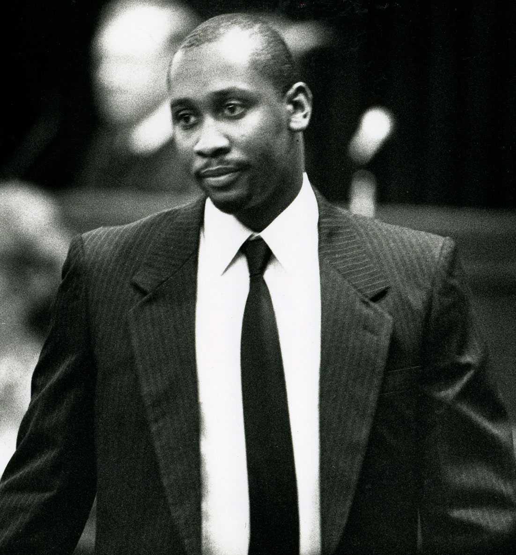 Troy Davis på rättegången 1991.