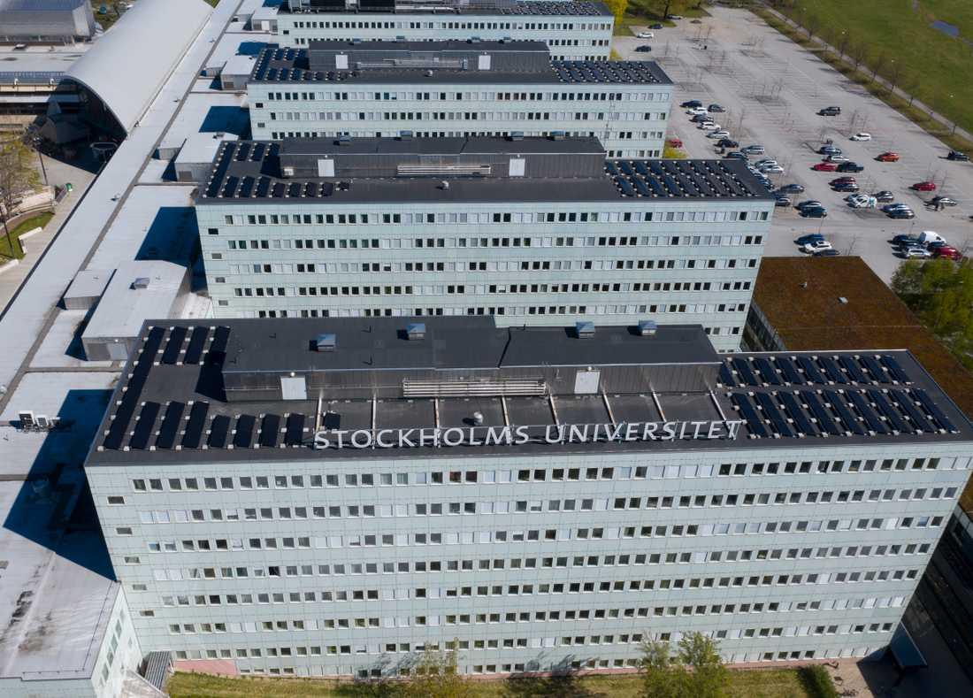 Stockholms universitet vid Frescati i Stockholm. Arkivbild.