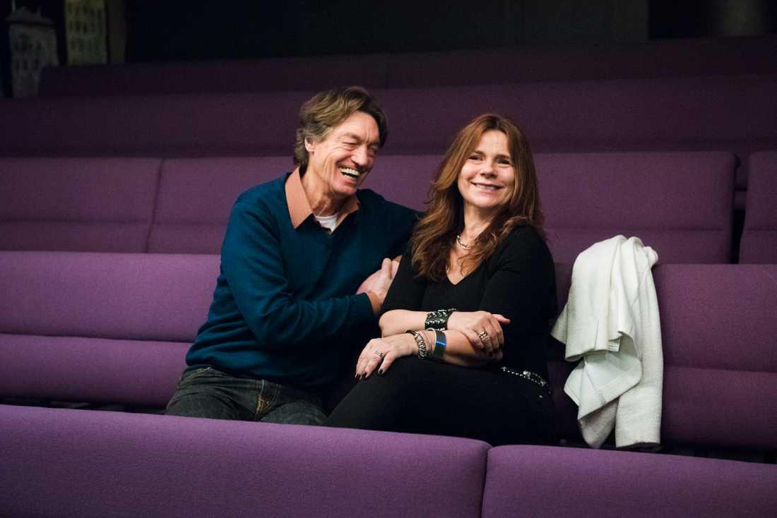 Katharina Hahr och Johannes Brost.