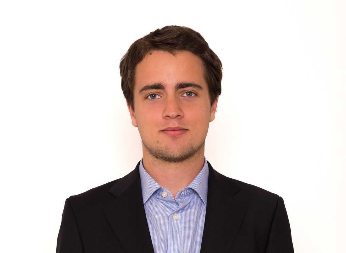 Alexander Sjödin, programhandläggare för Eurasien på människorättsorganisationen Civil Rights Defenders.