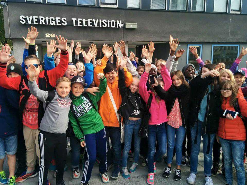Efter första texten på Aftonbladet debatt fick eleverna träffa UR. Men något besked om tv-serien har de inte fått.