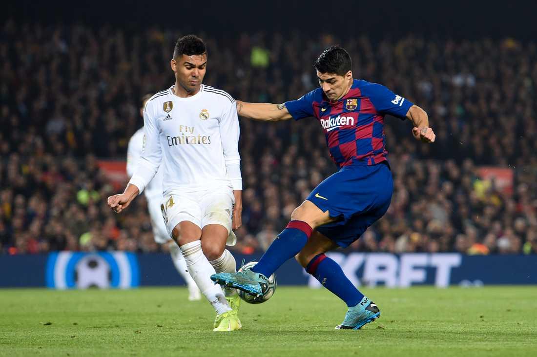 Varane och Suarez