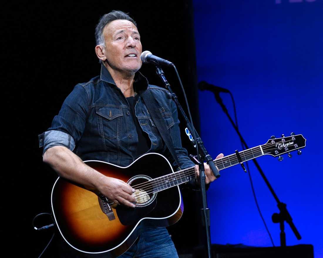 Bruce Springsteen på scen 2019. Arkivbild.
