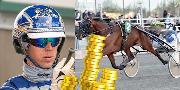 Kim Eriksson och Wingmaster är ett av miljondragen på V86.