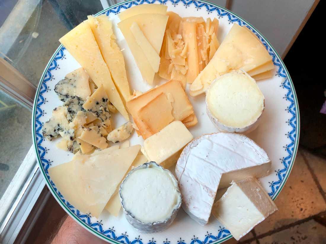 Det är inte osten på bilden som berörs av återkallelsen. Arkivbild.