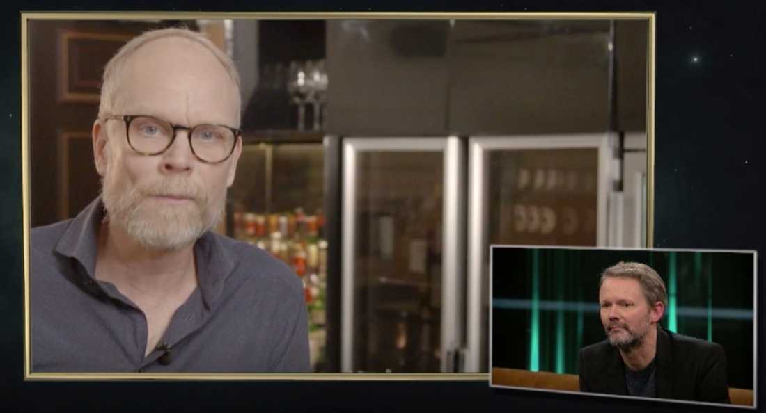 """Kristian Luuk i """"Här är ditt liv"""" med Carina Berg"""
