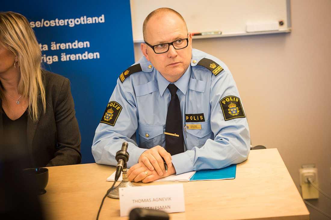 Thomas Agnevik, presstalesperson vid Region Väst.