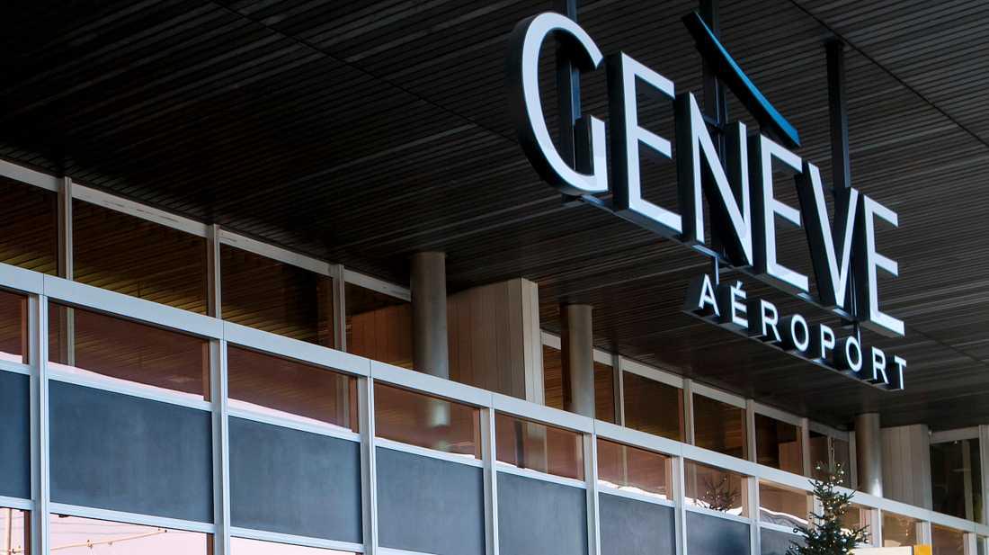 Flygplatsen i Genève. Arkivbild.