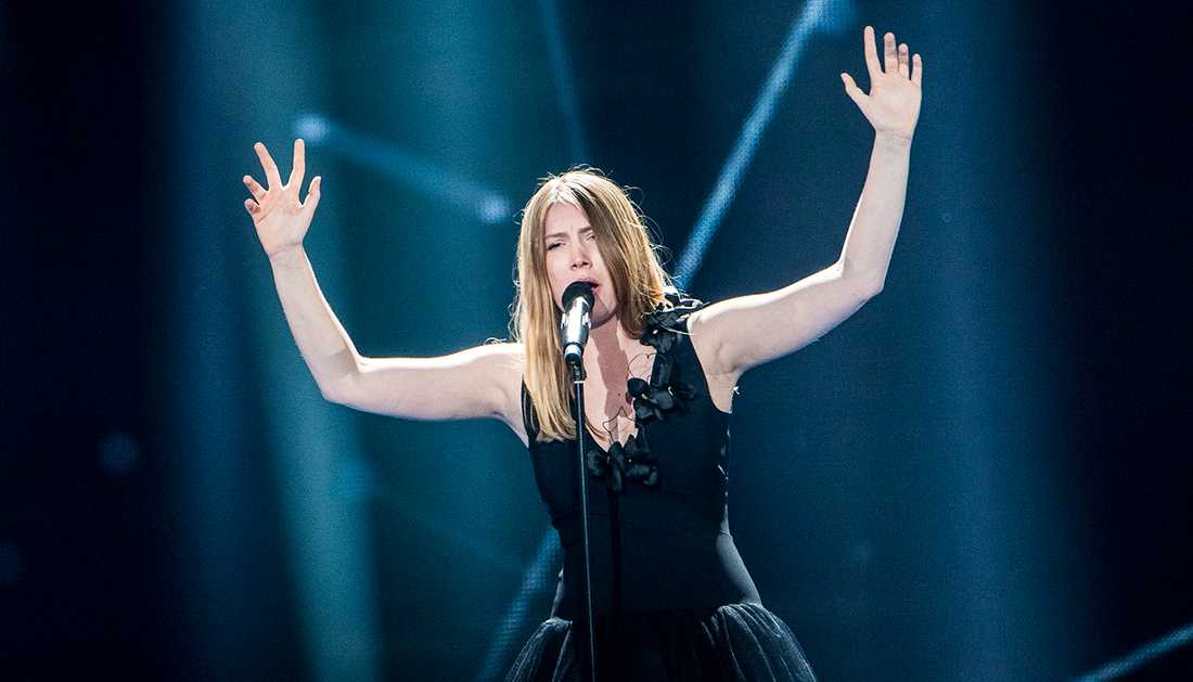 Blanche kom fyra i Eurovision song contest 2017.