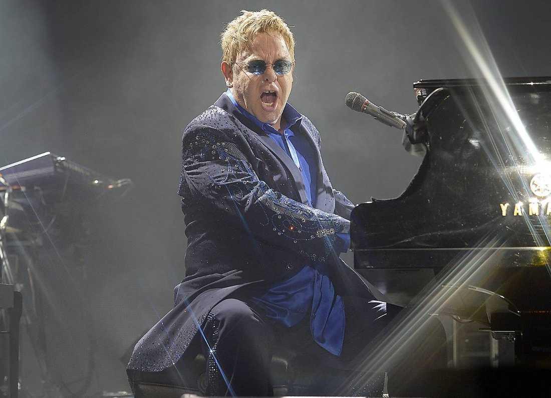 """Den aktuella turnén startade i fjol med anledning av 40-årsjubileumet av dubbelalbumet """"Goodbye yellow brick road"""". Här är det ingen autopilot som gäller för Sir Elton."""