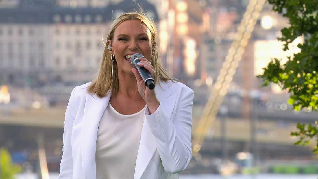 """Sanna Nielsen i """"Allsång på Skansen"""" i sommar."""