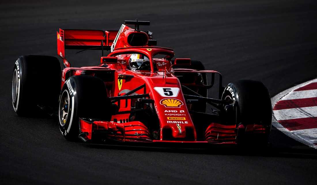 Så såg Ferraris bil ut 2018 - nu är datumet för presentationen 2019 års F1:a  klart.