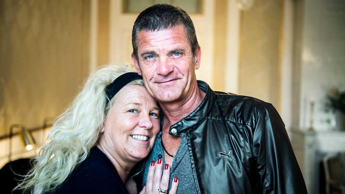 Mia Parnevik firade en mysig 50-årsdag med maken Jesper.