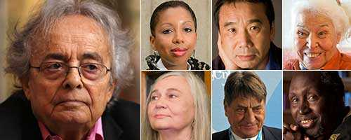 Blir det Adonis? Eller kanske Marie NDiaye, Haruki Murakami, Nawal el Saadawi, Marilynne Robinson, Claudio Magris eller Ngugi wa Thiong'o?