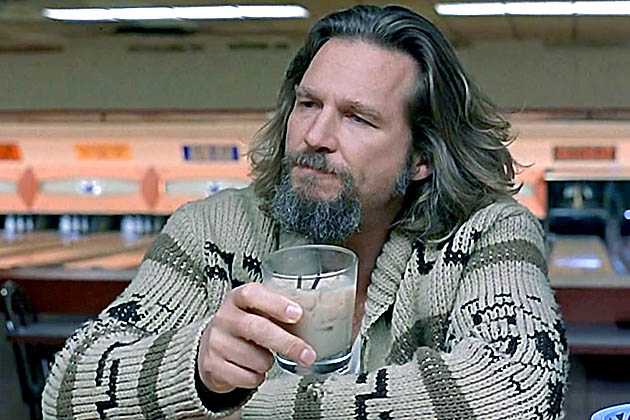 "Jeffrey ""The Dude"" Lebowski, spelad av Jeff Bridges i bröderna Coens film ""The big Lebowski"""