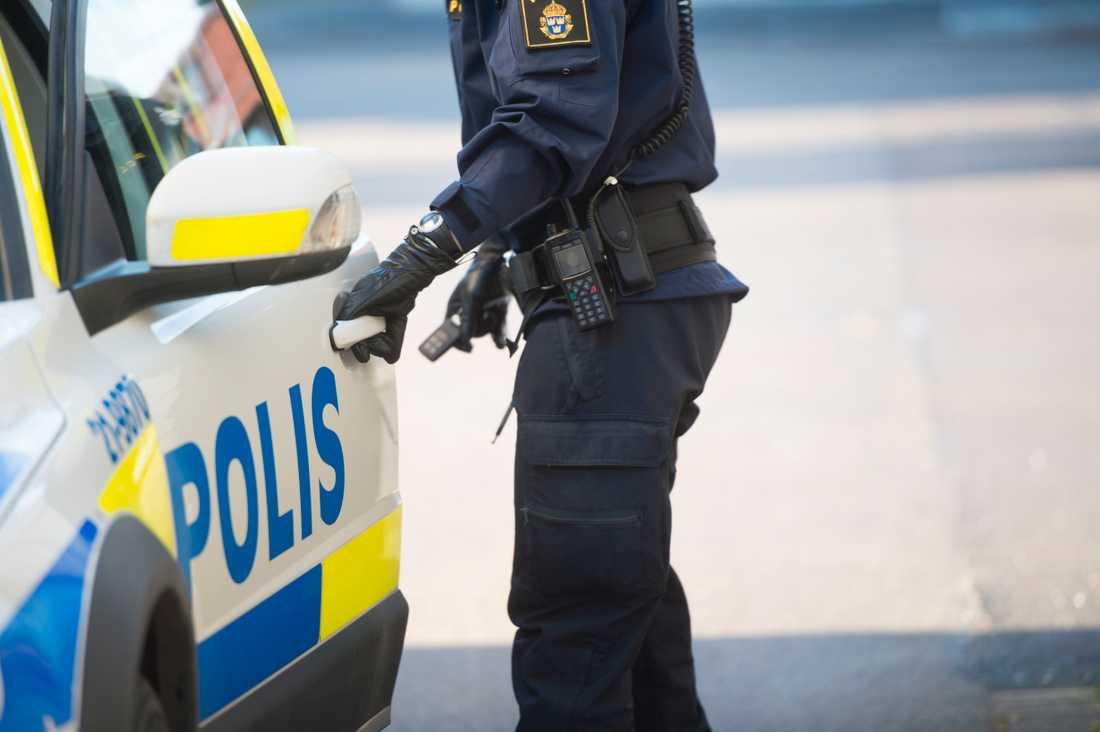 En man har gripits för mordförsök i Söderhamn. Arkivbild.