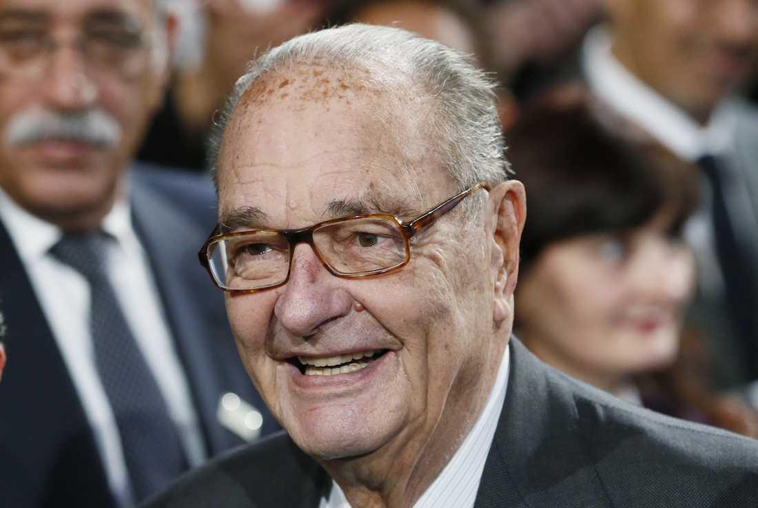 Frankrikes förre president Jacques Chirac är död.