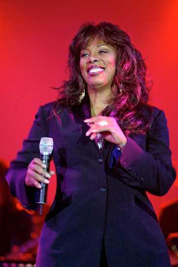 Donna Summer sjöng med svenskarna.