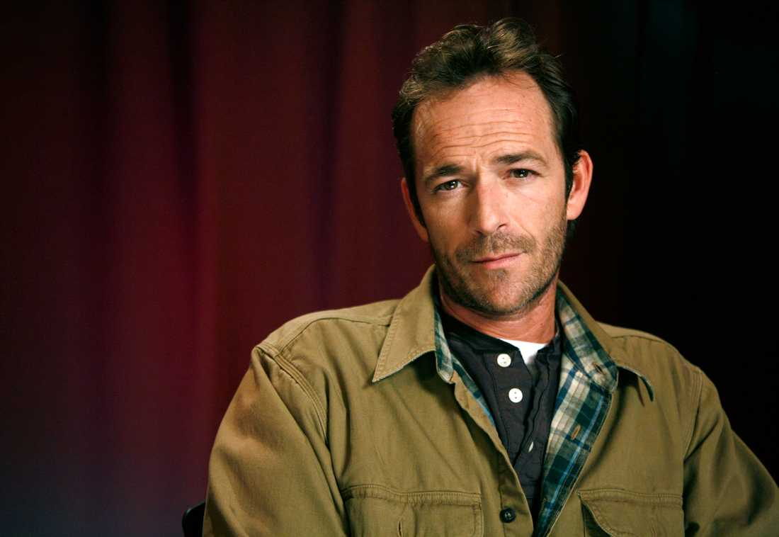 Luke Perry fotograferas i New York 2011.