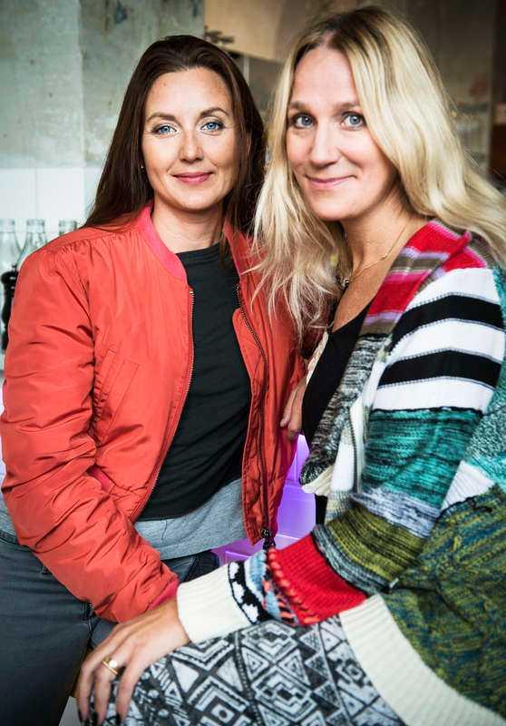 """Sanna Lundell och Ann Söderlund gjorde tv-programmet """"Dödsdansen"""" om medberoende."""