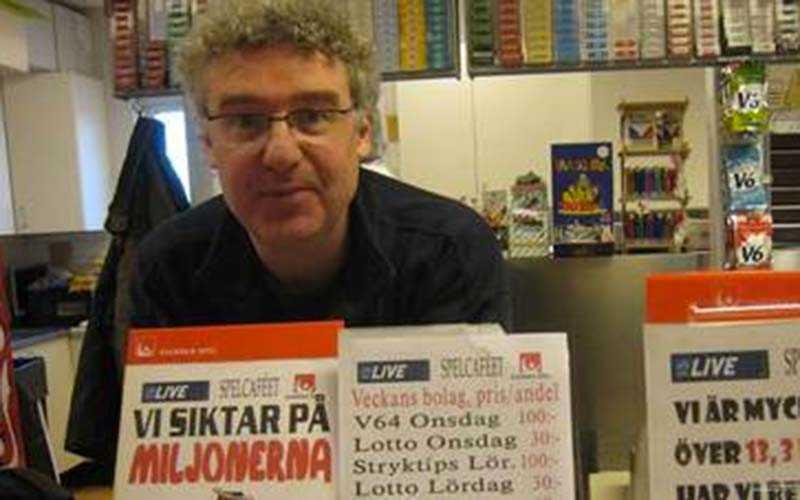 Tomas Holmström hos ICA Maxi i Visby