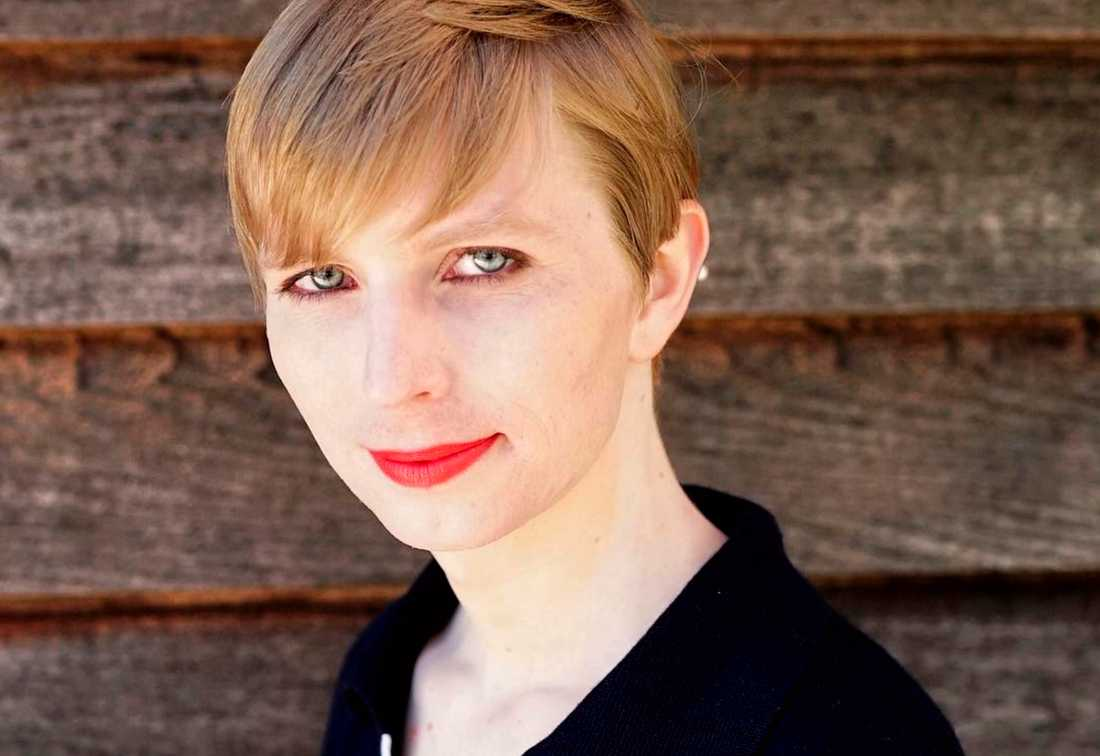 Chelsea Manning idag.
