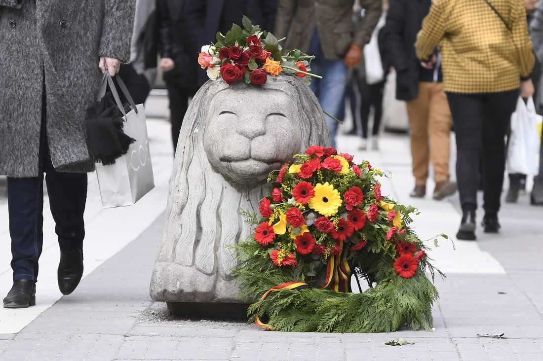 Maïlys Dereymaeker var på besök i Stockholm när den kapade lastbilen tog hennes liv på Drottninggatan. Arkivbild.