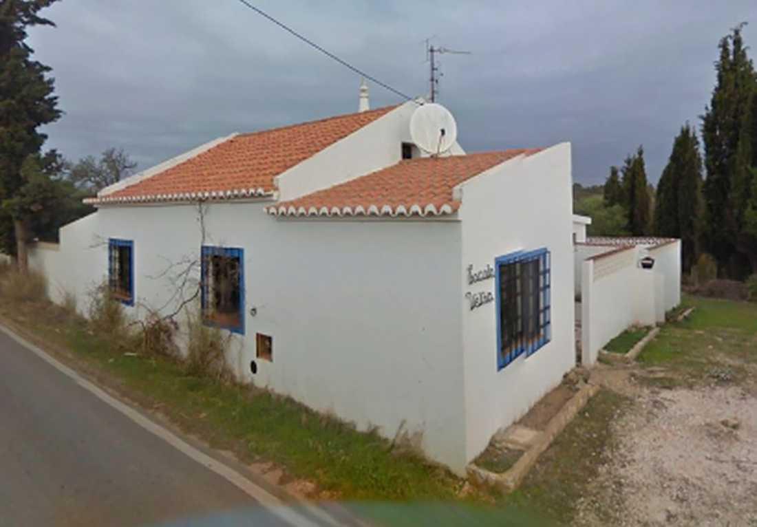 Tyska polisens bild på ett av husen i Portugal som figurerar i McCann-utredningen.