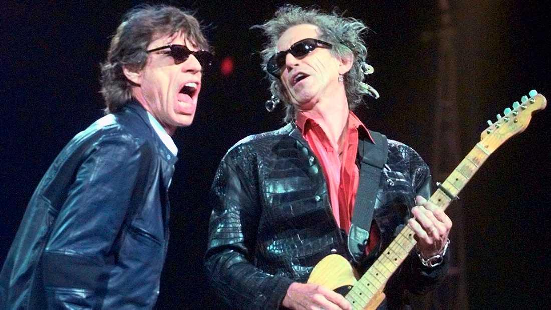 Mick Jagger och Keith Richards.