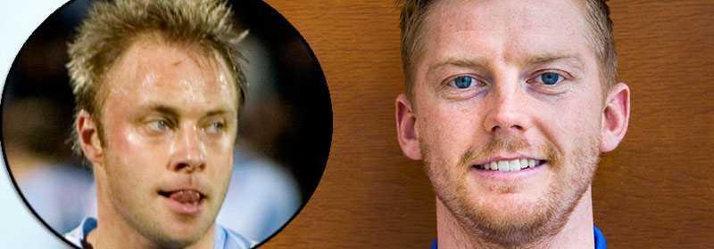 Anders Andersson och nya Anders Christiansen.