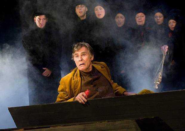 Tomas Pontén i sin sista roll på Dramaten.