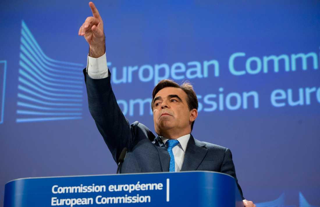 Margaritis Schinas, vice ordförande i EU-kommissionen.