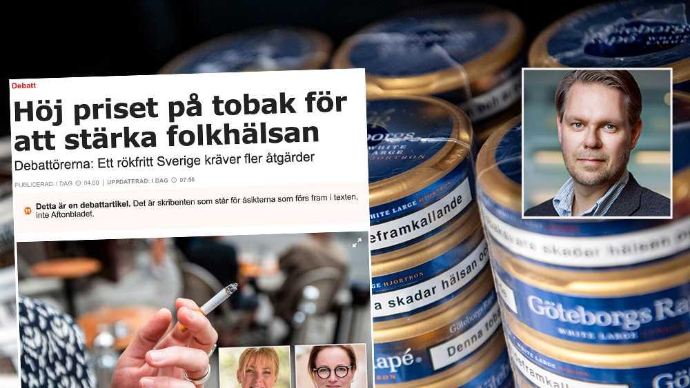 Det är så stora hälsoskillnader mellan att röka och snusa att man med fog kan säga att snuset bidrar till en förbättrad folkhälsa, skriver debattören