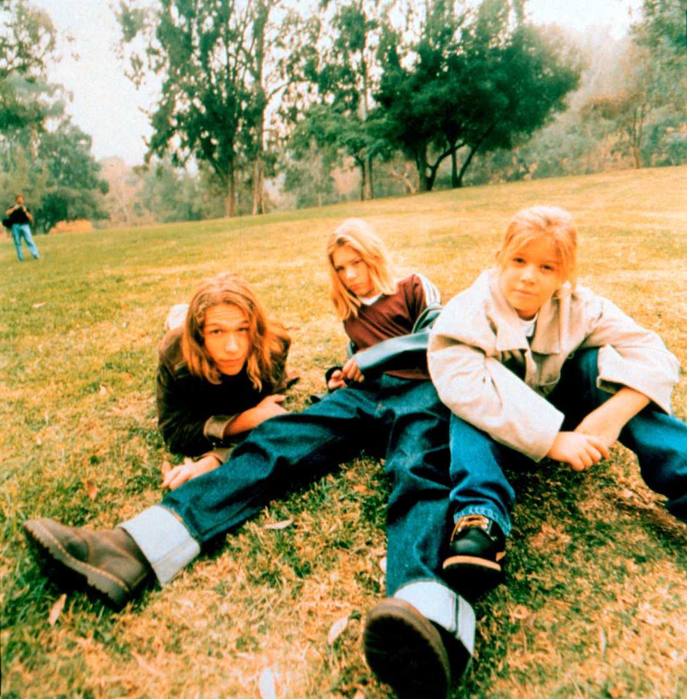 """MMMBop... Bröderna Hanson genombrottsåret 1997. Från vänster Isaac """"Ike"""" Hanson, Taylor """"Tay"""" Hanson och Zachary """"Zac"""" Hanson."""