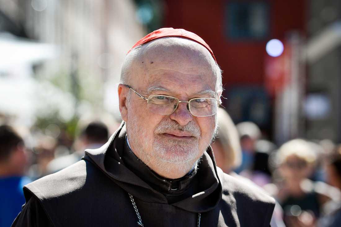 Katolska kyrkans biskop och kardinal Anders Arborelius deklarerar att kyrkan känner sig tvungna att lämna SMR och organisationen inte ändrar sin skrivning om aborter. Arkivbild.