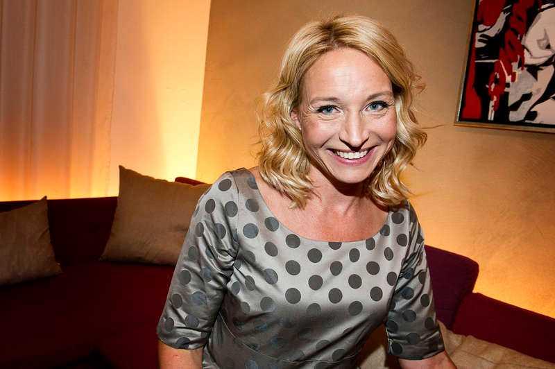 Martina Haag brukar motivera svenskar att ge sig ut i spåret och i sitt vinterprat gjorde hon inget undantag.