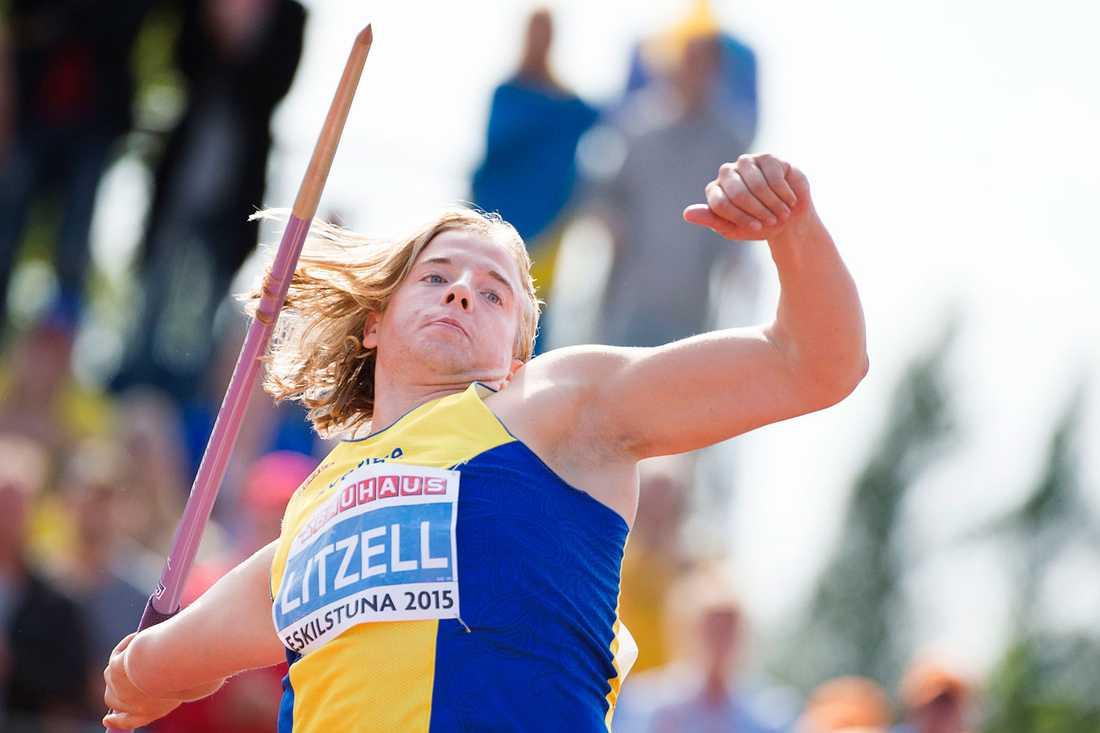Simon Litzell tog silver i junior-EM förra året.
